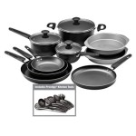 Farberware 18 Piece Cookware Set,  Only $60