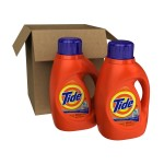 Hurry!! Two 50 Ounce Bottles Tide Laundry Detergent, Shipped, Only $9.88!!