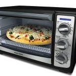 Black & Decker TRO4075B Black 4-Slice Toaster Oven With Convection, $24.99!