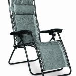 Camco Black Swirl Zero Gravity Recliner – $37.99