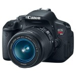 Canon EOS Rebel T4i 18 MP Digital SLR Camera w/18-55mm EF-S IS II Lens, $559.99