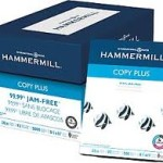 $25 Coupon – Hammermill 8.5″x11″ CopyPlus copy paper at Staples