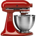 4.5 Qt. KitchenAid Stand Mixer, Only $199!