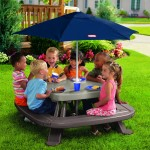 Little Tikes Fold 'n Store Table with Market Umbrella – $79.99!