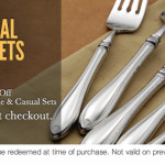 Additional 30% Off Flatware Sets at Oneida + Buy One Get One Free