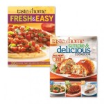 2 Book Cookbook Set – Simple & Delicious and Fresh & Easy, $15.99