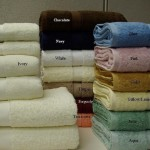 6 pc Egyptian cotton Combed Solid Towel set