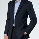 Today Only: Men's Crossover Slim Fit 2-Button Suit – $112 Shipped!