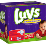 Luvs Premium Stretch Diapers with Ultra Leakguards – From 0.097 per Diaper Shipped!!