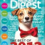 1 Year Subscription to Reader's Digest Magazine – $4.50!