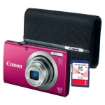 Today Only: Canon A2300 Digital Camera Bundle with Case and 4GB Memory Card – $69.99 Shipped!