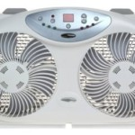 Lowest Price: Bionaire Twin Window Fan with Remote Control – $43.99 Shipped!