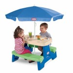 Little Tikes Easy Store Jr. Play Table with Umbrella – $69.99 Shipped!