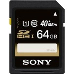 Sony 64GB Class 10 High Speed SDHC/SDXC Memory Card – Just $36.95 Shipped