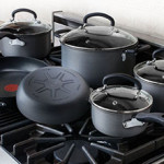Lowest Price: 12-Piece T-fal Ultimate Hard-Anodized Nonstick Cookware Set $79.99