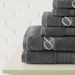 700 GSM Embroidered Egyptian Cotton Towel Set Just $32.99 Shipped!