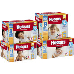 HUGGIES Snug & Dry Diapers + Pampers Wipes