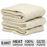 Sunbeam Quilted Heated Electric Blanket – $18.96!