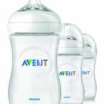 3 Philips AVENT BPA Free Natural Polypropylene Bottles – Just $13.03!