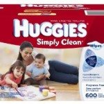 Huggies Simply Clean Fragrance Free Baby Wipes, 600 Count – $9.42 Shipped!