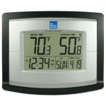 La Crosse Technology The Weather Channel Wireless Temperature Station with Solar Sensor Clock