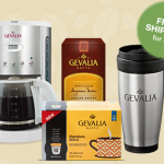 HOT! Get 2 Boxes Gevalia Coffee + FREE 12 Cup Coffeemaker + FREE Travel Mug For $14.99 Shipped!