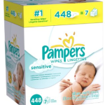 Pampers Sensitive Wipes – 448 Count Just $9.92 Shipped!