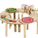Lowest Price! Anatex Mini Circle of Fun Activity Table Just $105.94 Shipped! (Reg. $250!)