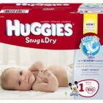 Huggies Snug & Dry Diapers 100-Pack Just $13.07 + Free Shipping!