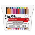 Best Price: Sharpie Ultra-Fine-Point Permanent Markers, 24-Pack Colored Markers – $11