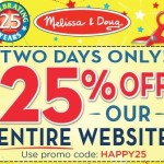 2 Days Only: Save 25% Sitewide at Melissa & Doug