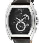 Today Only: Kenneth Cole Men's Chronograph Black Dial Black Genuine Leather Watch – $80 Shipped!