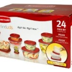 Rubbermaid 24-Piece Food Storage Container Set – Just $10