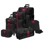 Traveler's Choice Creekside Spinner 7-Piece Luggage Set – Only $85 (Reg $300!)