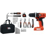 Amazon: Black & Decker 7.9v Cordless Drill with 54 piece set – Just $41.97 w/free shipping!