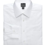 Jos. A. Bank Wrinkle Free Traveler Spread Collar Twill Dress Shirt – Just $24.97!