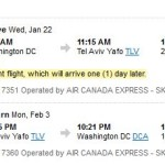 United/Delta/Air Canada: Washington D.C. or Chicago – TLV for $666