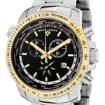 Ends 8pm: Swiss Legend Men's World Timer Chronograph Watch Only $89.99 Shipped