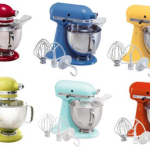 KitchenAid Artisan 5-qt. Stand Mixer +  FREE Food Grinder or Glass Bowl = Just $199.97 Shipped!