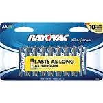 Staples: Rayovac Alkaline AA Batteries, 24/Pack for only $4.99 Shipped