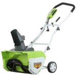 Ends Soon! GreenWorks 26032 12 Amp 20″ Corded Snow Thrower – $118.43 Shipped!