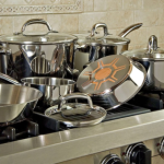 Today Only: Ultimate Stainless Steel Copper-Bottom 12-Piece Cookware Set, Only $78.99 Shipped!