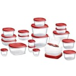 Ends Tonight: 24 Piece Rubbermaid Easy Find Lid Food Storage Set Only $15.99