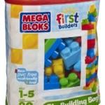 80 Piece Mega Bloks Big Building Bag Only $11.19!