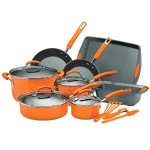 Rachael Ray Porcelain Enamel II Nonstick 15-Piece Cookware Set Just $89 Shipped!