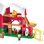 Fisher-Price Animal Sounds Farm, Happy Sounds Home, Disney Princess Stable all Marked Down