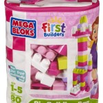 Mega Bloks Big Building Bag, 80-Piece – $11.99