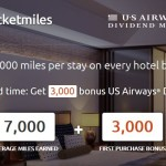 RocketMiles:  For a limited time get 3,000 bonus Dividend Miles on the first hotel booking