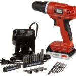 Black & Decker 20-Volt MAX Lithium-Ion Drill/Driver with 30 Accessories + 10 Piece Drill Bit Set For Only $43.96 Delivered!