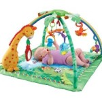 Fisher-Price Rainforest Melodies and Lights Deluxe Gym Just $34